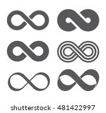 infinity sign. infinity flat... | Shutterstock .eps vector #481422997