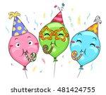 Mascot Illustration Of Balloon...