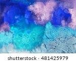 watercolor abstract textured...   Shutterstock . vector #481425979