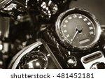 Motorbike Details   Speedometer