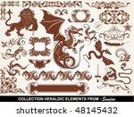 set  heraldic elements