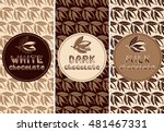 vector set of design elements... | Shutterstock .eps vector #481467331