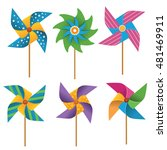 Colorful Pinwheel Collection