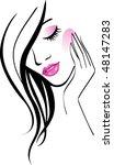 skin care   Shutterstock .eps vector #48147283