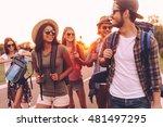 freedom is in their veins.... | Shutterstock . vector #481497295