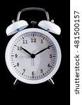 alarm clock. classic alarm... | Shutterstock . vector #481500157