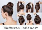 hairstyle tutorial  elegant bun ...