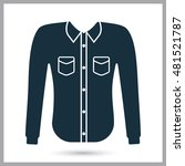 male shirt icon | Shutterstock .eps vector #481521787
