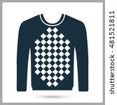 male sweater icon | Shutterstock .eps vector #481521811