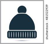 winter hat icon   Shutterstock .eps vector #481522939