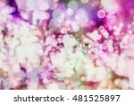 colorful circles of light... | Shutterstock . vector #481525897