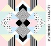 seamless geometric pattern in...   Shutterstock .eps vector #481531459