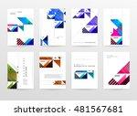 geometric background. template...   Shutterstock .eps vector #481567681