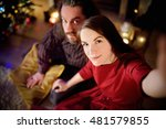 young happy couple taking a... | Shutterstock . vector #481579855