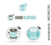 vector illustration of vintage... | Shutterstock .eps vector #481581181