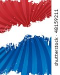 red  white and blue patriotic... | Shutterstock .eps vector #48159211