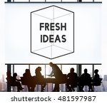 thinking out of the box concept   Shutterstock . vector #481597987