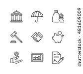 thin line icons set about... | Shutterstock .eps vector #481609009
