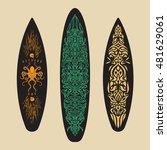 vector surf graphics.... | Shutterstock .eps vector #481629061