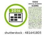 2016 calendar grid rounded...