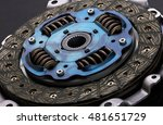 disc and clutch basket  close up | Shutterstock . vector #481651729