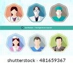 hospital people avatar user... | Shutterstock .eps vector #481659367
