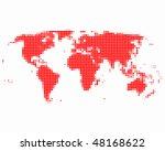 world map | Shutterstock .eps vector #48168622