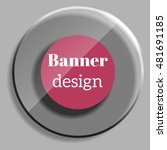 abstract web banner in... | Shutterstock .eps vector #481691185