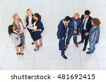business people group men and... | Shutterstock . vector #481692415
