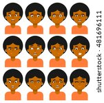 people emotional icon isolated... | Shutterstock .eps vector #481696111