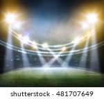 stadium in lights 3d. | Shutterstock . vector #481707649