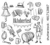 """set of vector sketches """"...   Shutterstock .eps vector #481712887"""