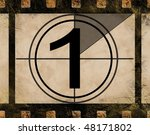 film countdown at no 1 | Shutterstock . vector #48171802
