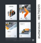 brochure template layout  cover ... | Shutterstock .eps vector #481750255