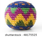 Footbag Play Made Of Textile...