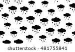 vector seamless pattern of... | Shutterstock .eps vector #481755841