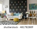 shot of a creative modern... | Shutterstock . vector #481782889