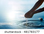 nature water concept | Shutterstock . vector #481783177
