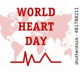 vector illustration world heart ... | Shutterstock .eps vector #481788211