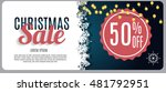 christmas sale  discount... | Shutterstock .eps vector #481792951