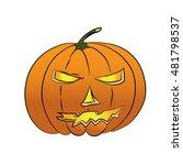 pumpkin | Shutterstock .eps vector #481798537