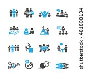 business and teamwork icons... | Shutterstock .eps vector #481808134