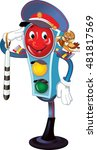 traffic light traffic controller   Shutterstock .eps vector #481817569