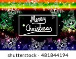 bright color background for a... | Shutterstock .eps vector #481844194