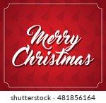 christmas card   eps 10 | Shutterstock .eps vector #481856164