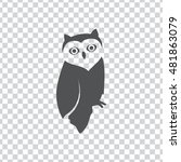 owl vector. owl clipart. also...