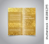 vector two fold brochure design ...   Shutterstock .eps vector #481881295