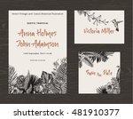 set wedding printing. the... | Shutterstock .eps vector #481910377