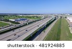 aerial view interstate 10 or... | Shutterstock . vector #481924885