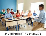 education  school  teaching ... | Shutterstock . vector #481926271